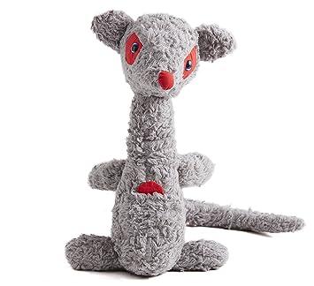 Zibuletes-Peluche de bebé 40 cm, canguro, tejido de algodón ecológico para exterior
