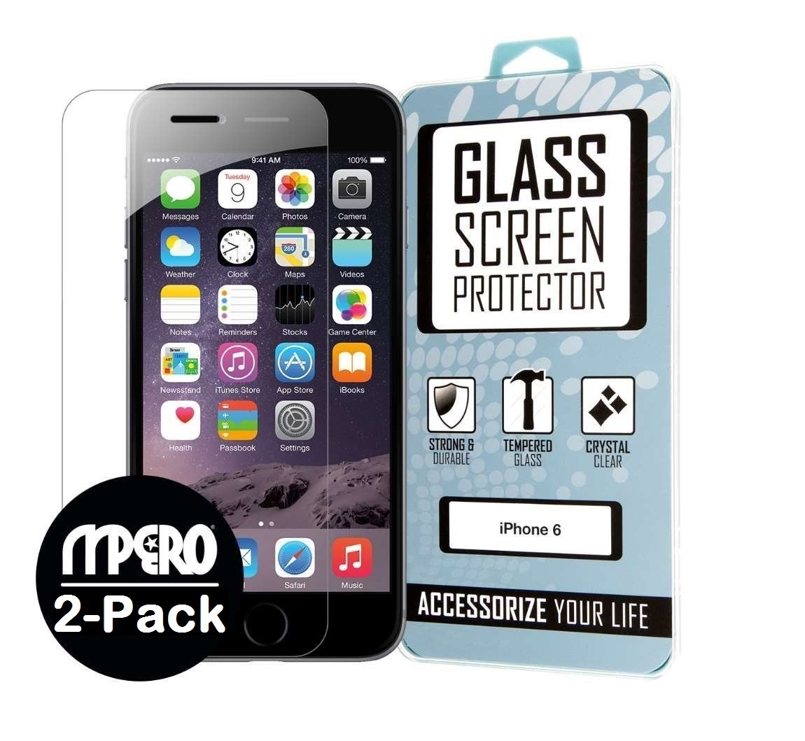 Iphone 7 / Iphone 6 / Iphone 6S Glass Screen Protector Covers (2 Pack) Bubble.. 12