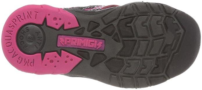 Primigi PAQ 14557, Zapatillas para Niñas, Negro (Nero-Fux.FL/per 11), 36 EU