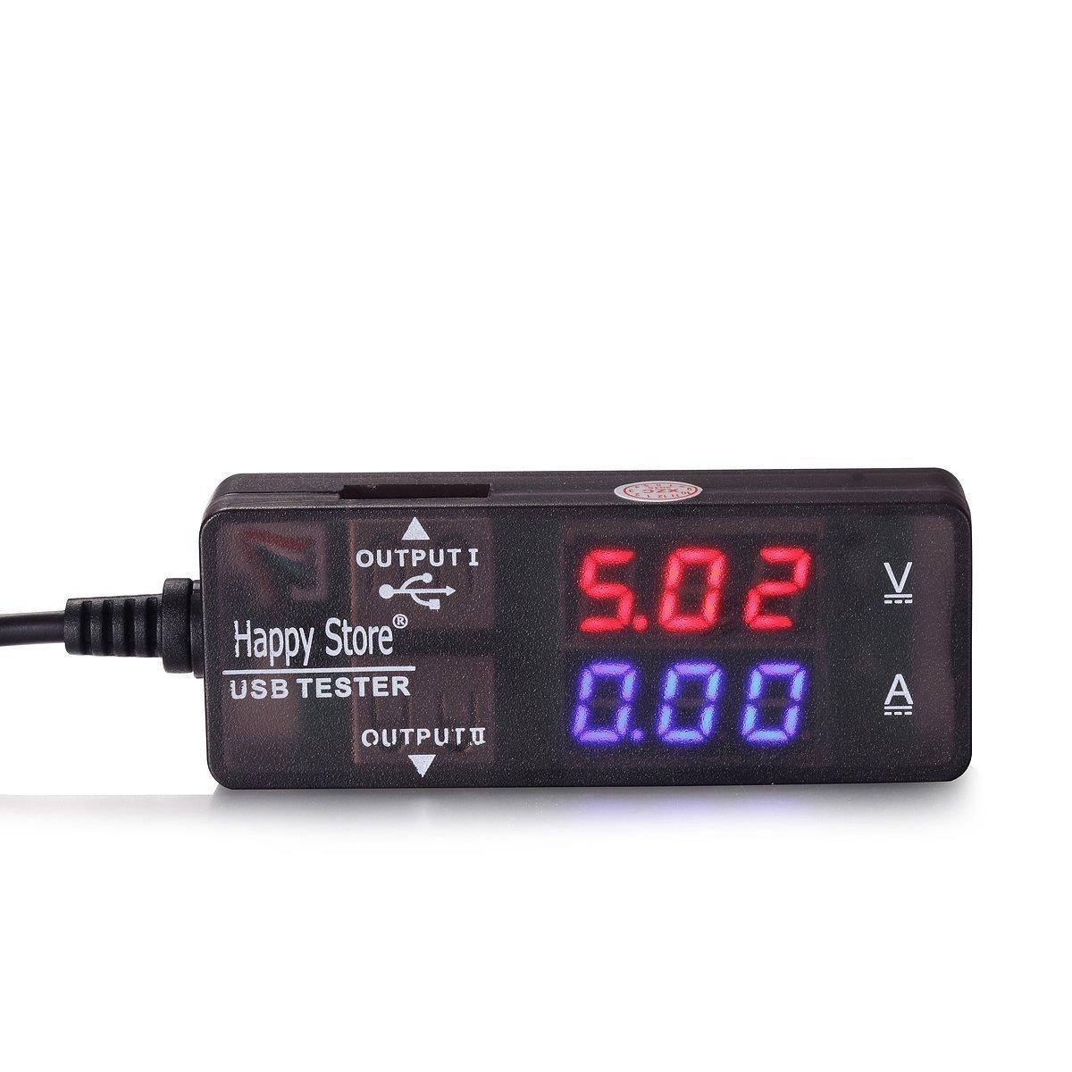USB 2.0 Digital Multimeter,Ammeter Voltmeter Capacity Power Meter Tester by GTT