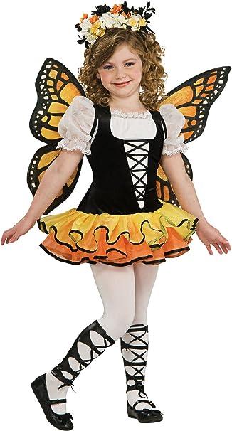 Chica Disfraz Mariposa y alas de Hadas Disfraz de Animales ...