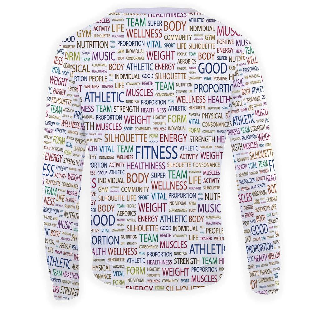 MOOCOM Adult Fitness Crewneck Sweatshirt