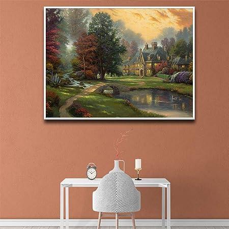 RTCKF Imagen del Paisaje del Bosque Verde para el diseño del ...