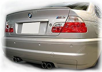 Car-Tuning24 49945902 wie Performance und M3 E46 3er TUNING NEU Heckspoiler Kofferraum SPOILER Lippe TITANSILBER 354