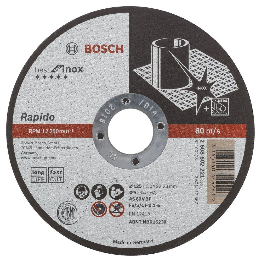 Bosch Professional Diamanttrennscheibe Best for Ceramic Extraclean Turbo zum Schneiden von harten Materialien /Ø 125 mm