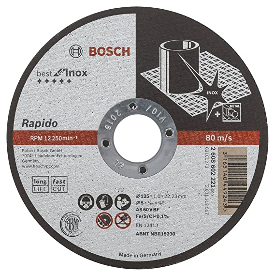 BOSCH Diamanttrennscheibe Ø 125mm Best for Ceramic Extra Clean Turbo 2608602479