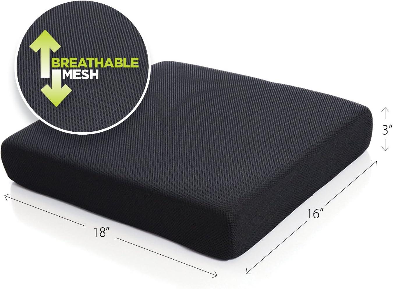 Milliard Memory Foam Seat Cushion Chair Pad