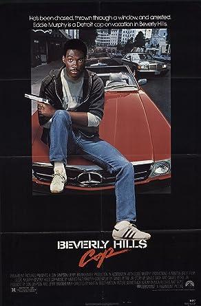 Beverly Hills Cop 1984 Authentic 27 X 41 Original Movie Poster