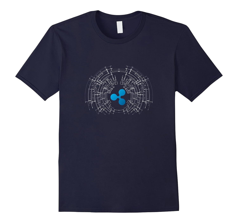 Ripple XRP Logo Crypto Tech T-Shirt-FL