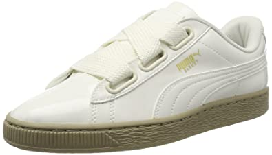 puma basket heart patent couleur