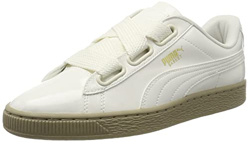 PUMA Women Basket Heart Patent Low-Top Sneakers ecc3d09d3