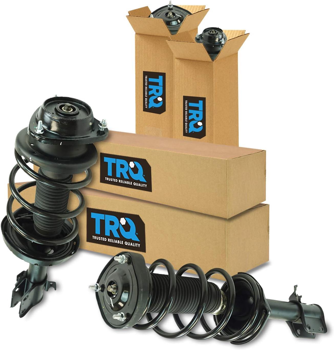 TRQ Complete Loaded Strut Spring Assembly Front /& Rear Kit for Subaru Forester