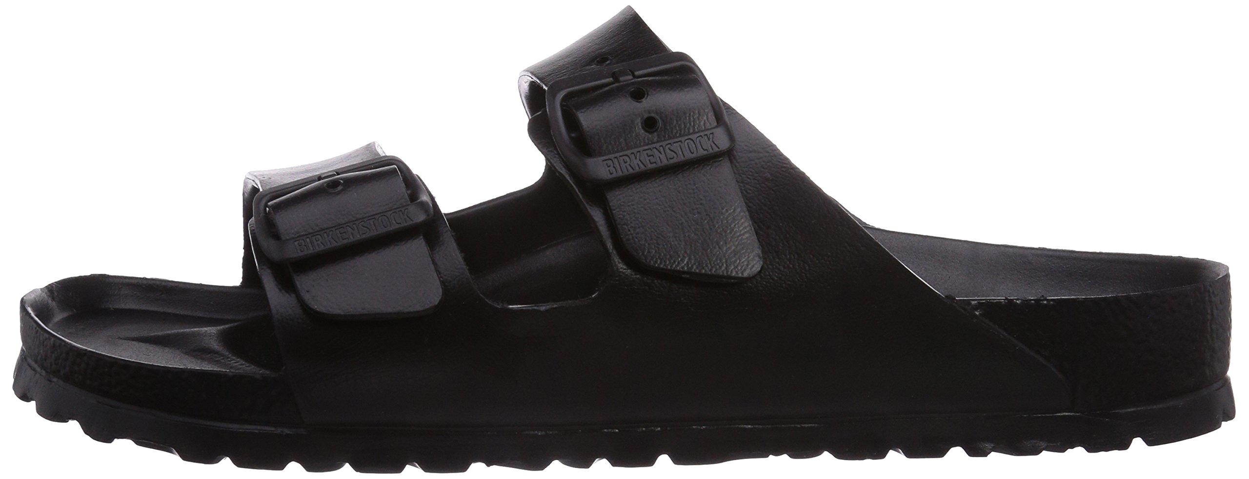 02bb31432bb5 Birkenstock Unisex Arizona Essentials EVA Black Sandals - 43 M EU 12-12.5  B(M) US Women 10-10.5 D(M) US Men - 129421 Black   Sandals   Clothing