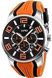 Skmei 腕時計 メンズ スポーツ ストップウォッチ ブランド 人気 ファション アウトドア クロノグラフ 夜光