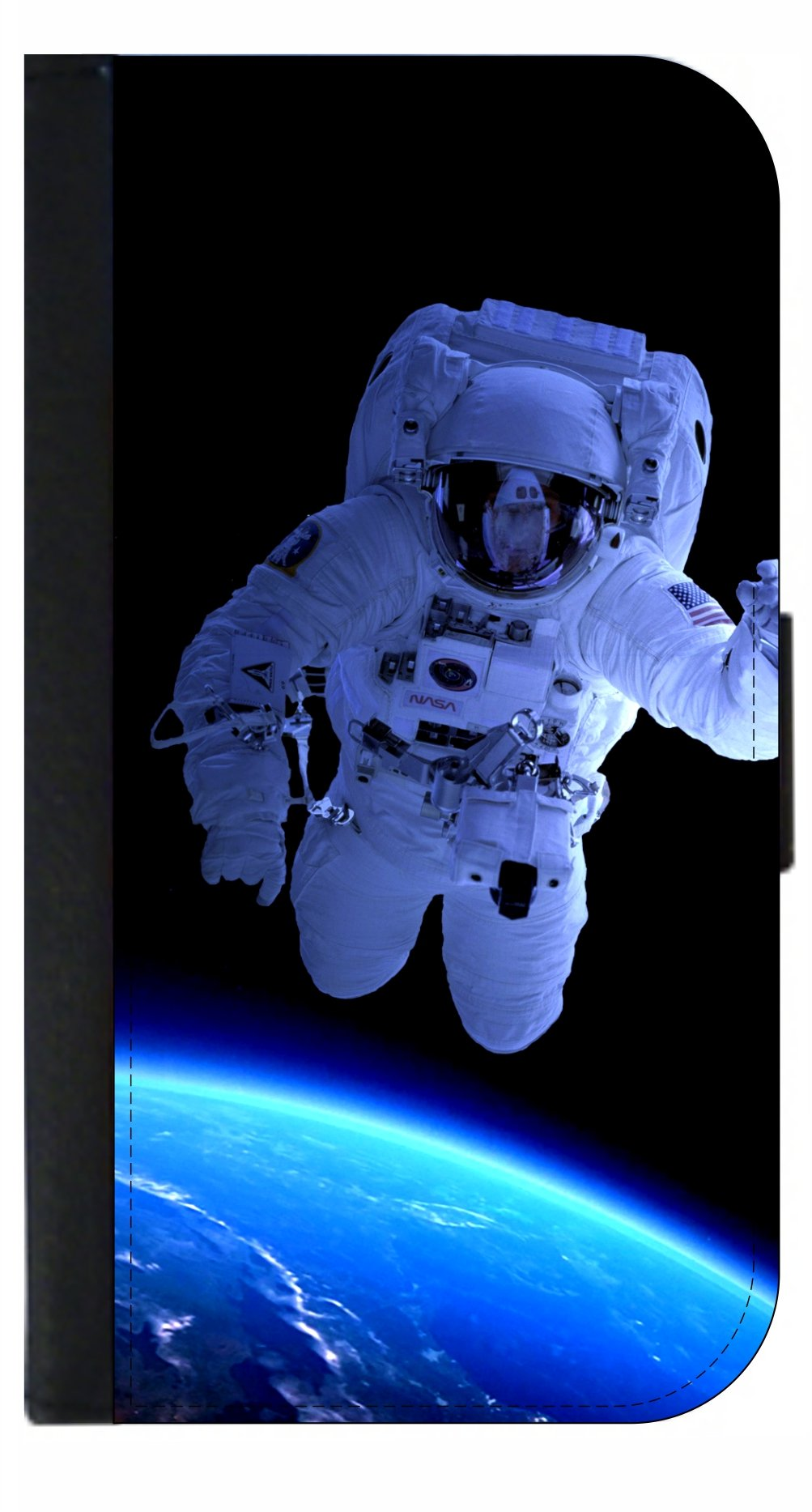 Astronaut In Space - Passport Cover / Card Holder for Travel
