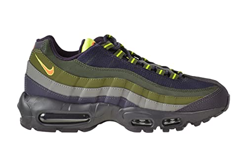 c3bea5f85d3e Nike Air Max  95 Mens  Shoes Cave Purple Hyper Crimson-Rough Green  609048-500 (9 D(M) US)  Buy Online at Low Prices in India - Amazon.in