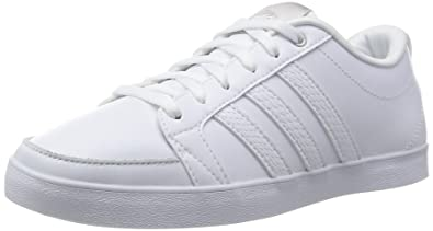 reputable site 456c4 0a7ea adidas NEO Damen Daily QT LX Sneakers Weiß FTWR WhiteMatte Silver, 36 EU
