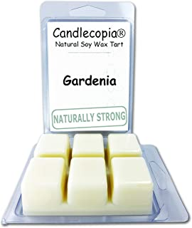 product image for Candlecopia Gardenia Strongly Scented Hand Poured Vegan Wax Melts, 12 Scented Wax Cubes, 6.4 Ounces in 2 x 6-Packs