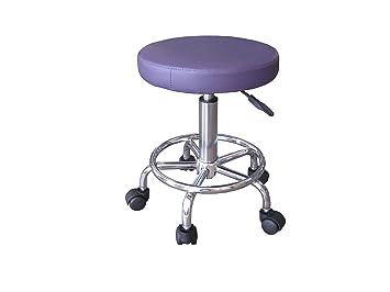 Roulettes Chaise Violet A Massage Kine Ap Tabouret Table Bureau ywO80NvmnP