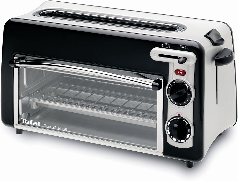 Tefal TL600030 - Tostador Toast NGrill 2 en 1 Negro: Amazon ...