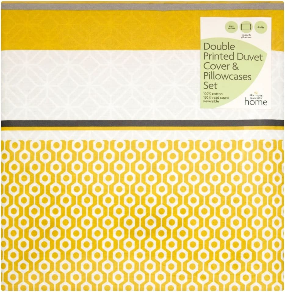 Morrisons 100 Percent Cotton Banded Geo