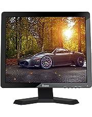 """Eyoyo 15 """"Pulgadas 1024x768 1080P TFT LCD CCTV HDMI HD Pantalla de Color del Monitor con Entradas BNC / VGA / AV / HDMI /Salida del Auricular del USB,Altavoz incorporado"""