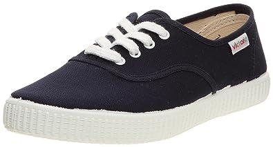 Womens Inglesa Lona Trainers Blue Size 39 (5.5 To 6)