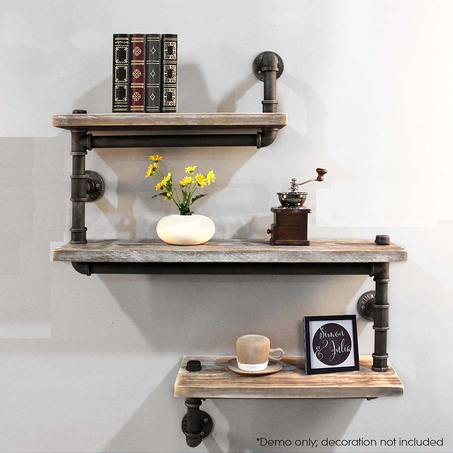 Industrial Bookcase Diy Bookcases Amazoncom