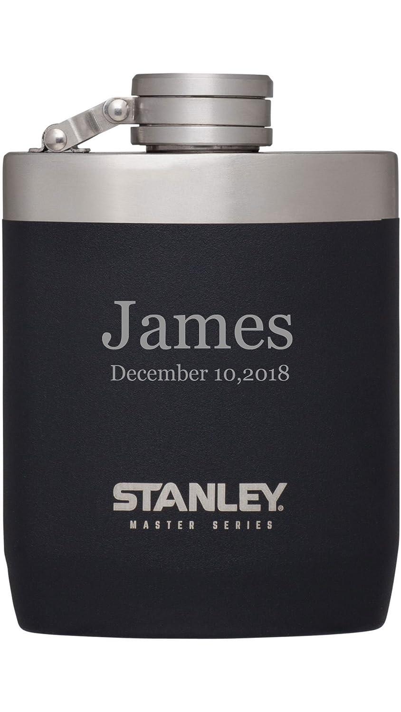 【ご予約品】 Personalized Personalized Stanleyマスターシリーズブラック8オンスフラスコwith B079XKZG46 Freeレーザー彫刻 B079XKZG46, 新しい到着:ac69384b --- a0267596.xsph.ru