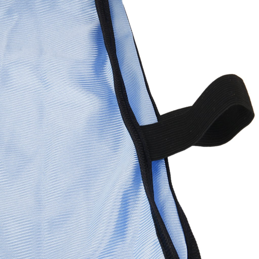 Desconocido Chaleco Respirable de F/útbol Baloncesto Rugby Deportes Correa El/ástica Azul Claro