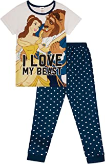 Disney Ladies Girls Teen Official, My Little Pony, Harry Potter, Beauty & The Beast, Tinkerbell, Grumpy, Sleepy, Dopey Novelty Cotton Pyjamas PJS