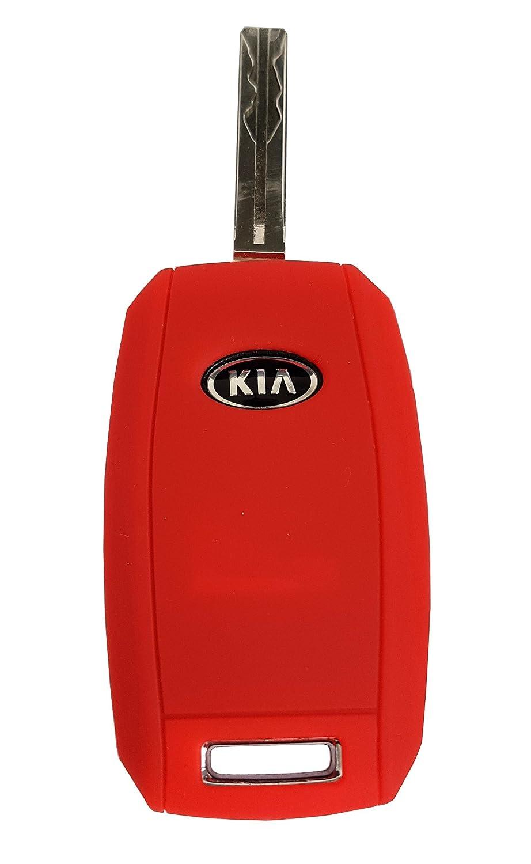 Kia Ceed Picanto Silicone Car Key Case//Key Cover Case Cover for Rio Optima Carens CK