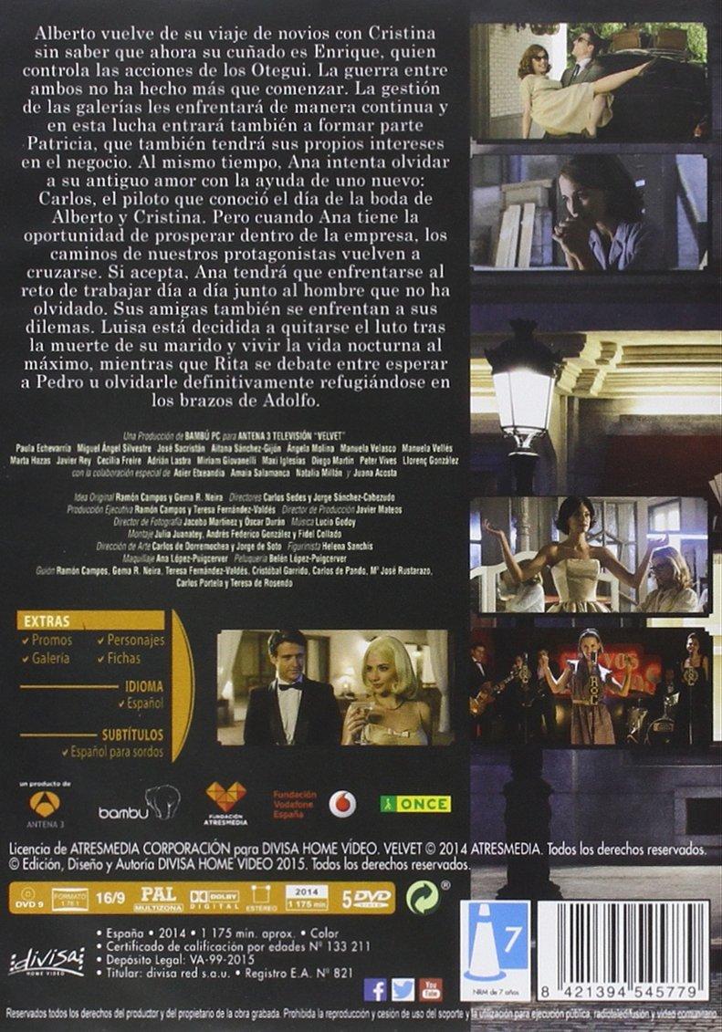 Velvet - Temporada 2 [DVD]: Amazon.es: Paula Echevarría ...