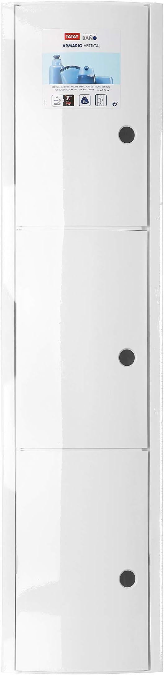 TATAY Storage Tower White One Size