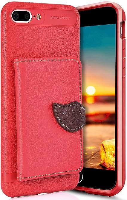 Robinsoni Custodia Compatibile con iPhone 8 Plus Cover Libretto ...