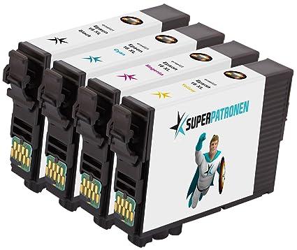 4 Cartuchos de impresora XL Original Epson 16 X L, T1636 ...