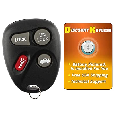 For 96-07 Cadillac Chevy Buick Oldsmobile Pontiac Keyless Entry Remote Key Fob 10443537 25678792 KOBLEAR1XT - See Listing For Vehicle Compatibilty: Automotive
