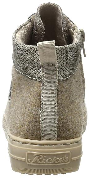 Rieker Women's Z2118 81 Boots beige Size: 3.5: Amazon.co.uk