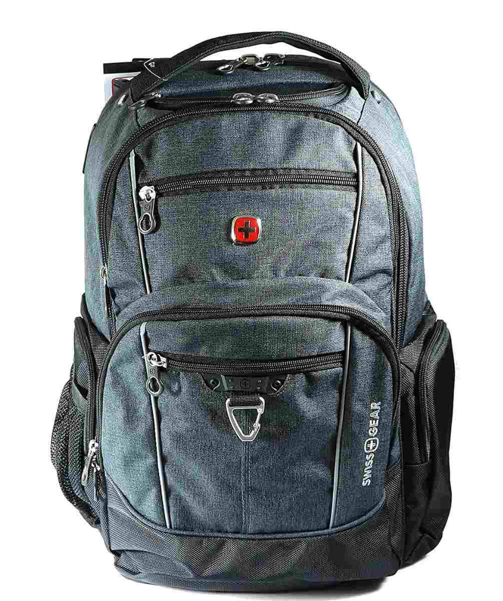ef5dce697d56 Swiss Gear - Water Resistant Laptop and Tablet Backpack (Fits Most 17.3
