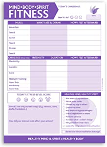 Planning Pad by InnerGuide - Daily Note Pad - Undated Daily Planner for Mindful Health & Fitness Planning by Inner Guide Planners