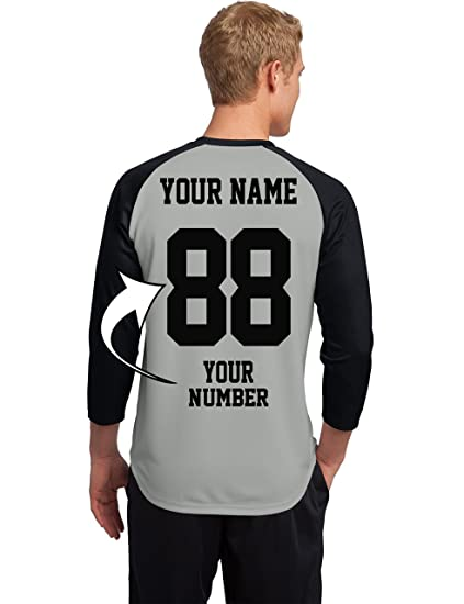 best sneakers 55fcd 3aecf Custom Raglan Baseball Jerseys - Make Your OWN Shirts - Personalized Team  Uniforms