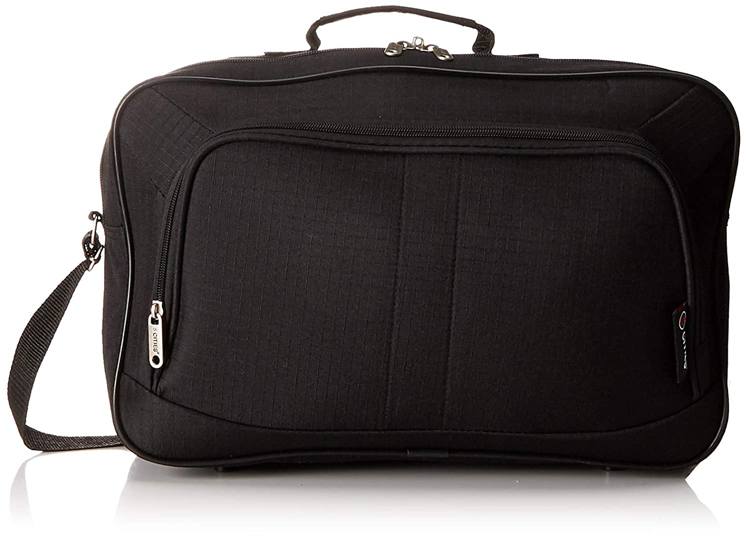 5 Cities Bagage cabine, Black 602 (Noir) - FB602 BLACK