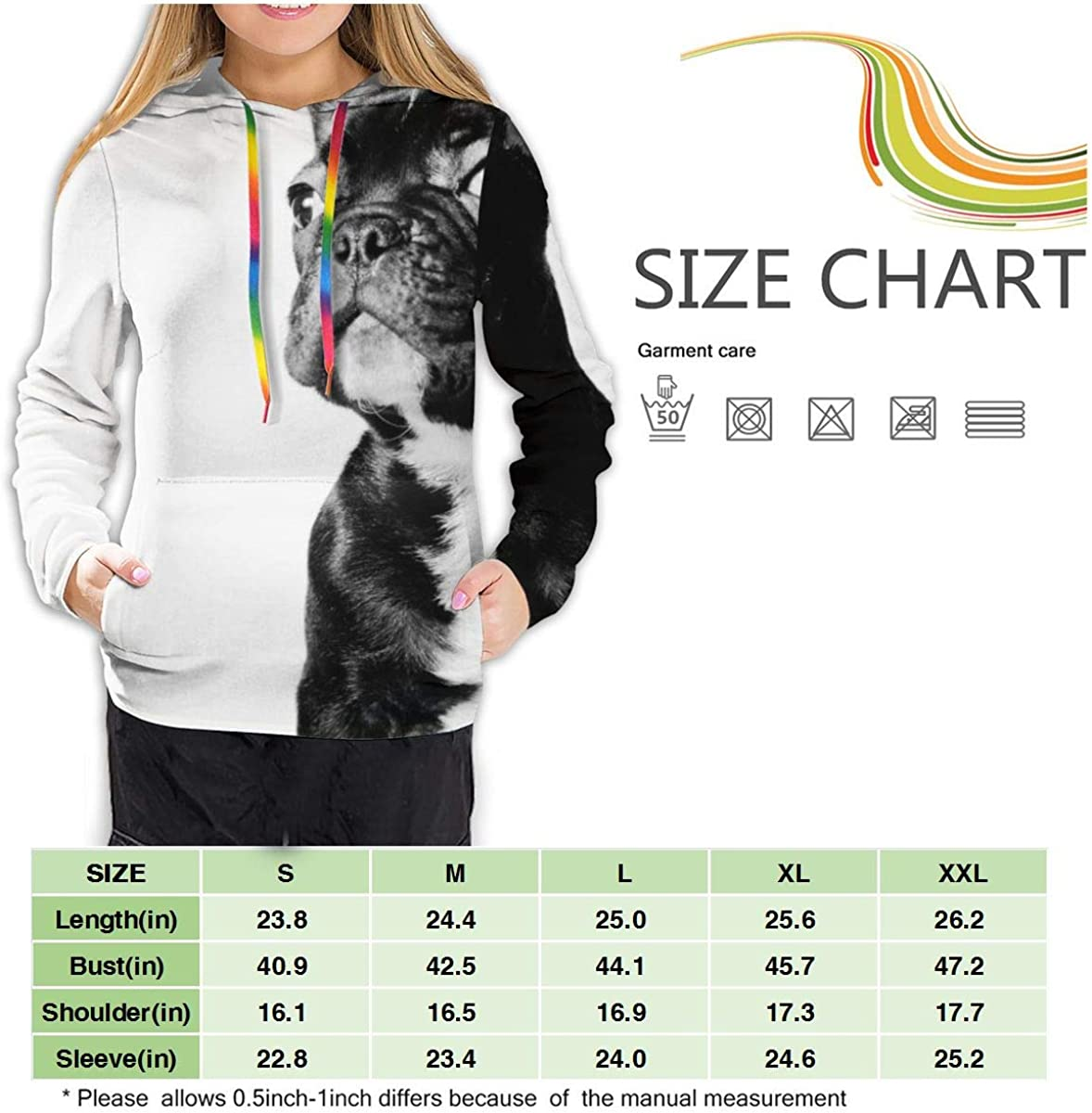 YongColer Pullover Hooded Sweatshirts for Women Girls Ladies Funny Cool Outwear