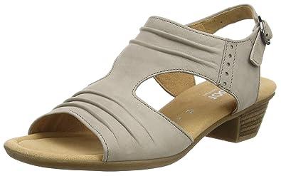 Gabor Shoes Gabor Comfort, Damen Offen Sandalen , Braun (33 visone), 36 6c93a1c23b