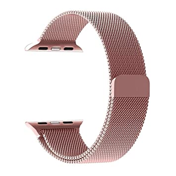 Kungix Smart Watch Correa (42mm, oro rosa): Amazon.es: Electrónica