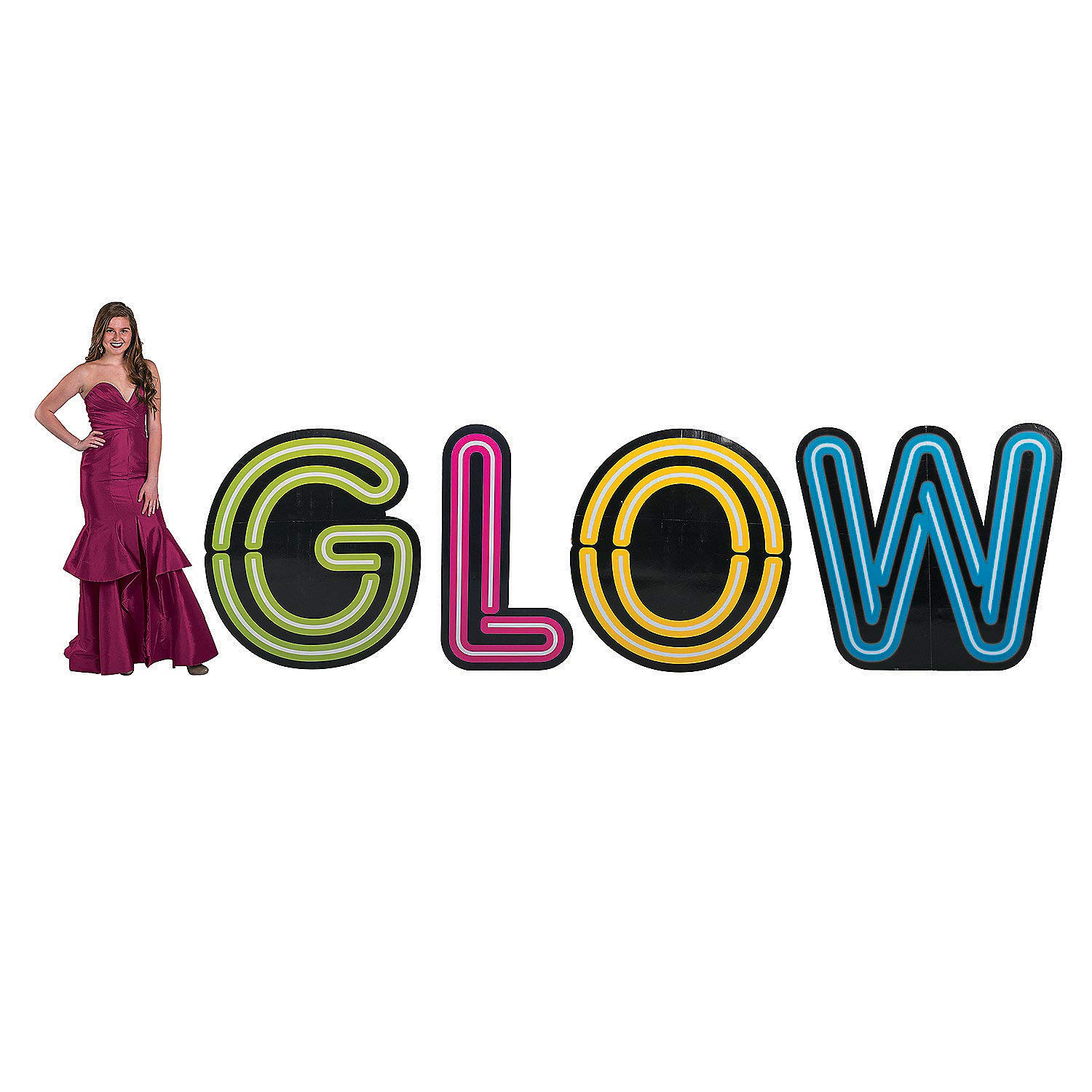 Fun Express GLOW LETTER STAND UP