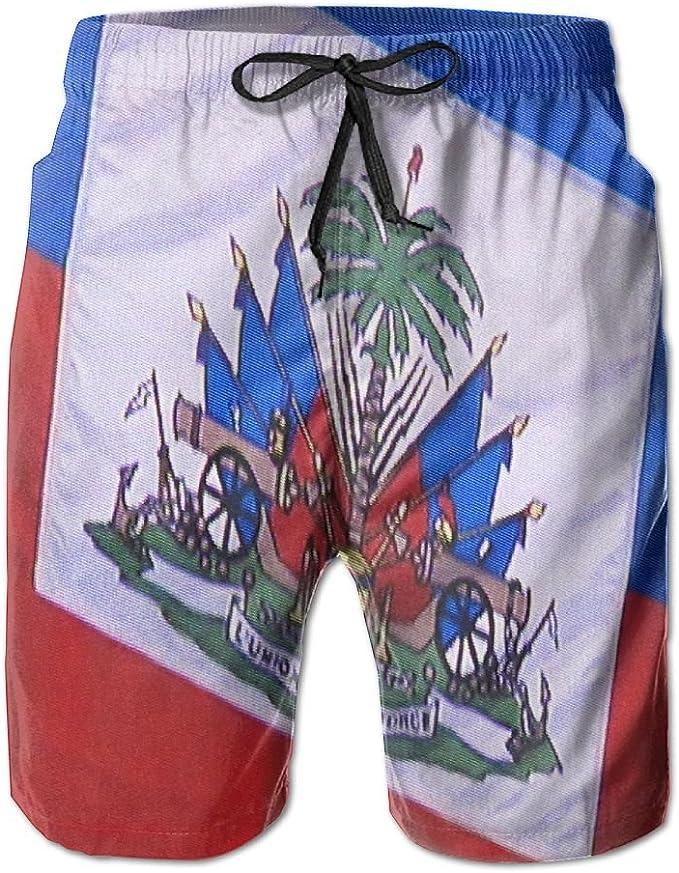 Boys Comfortable Hawaii Beach Mountaineering Vintage Beach Shorts Swim Trunks Board Shorts