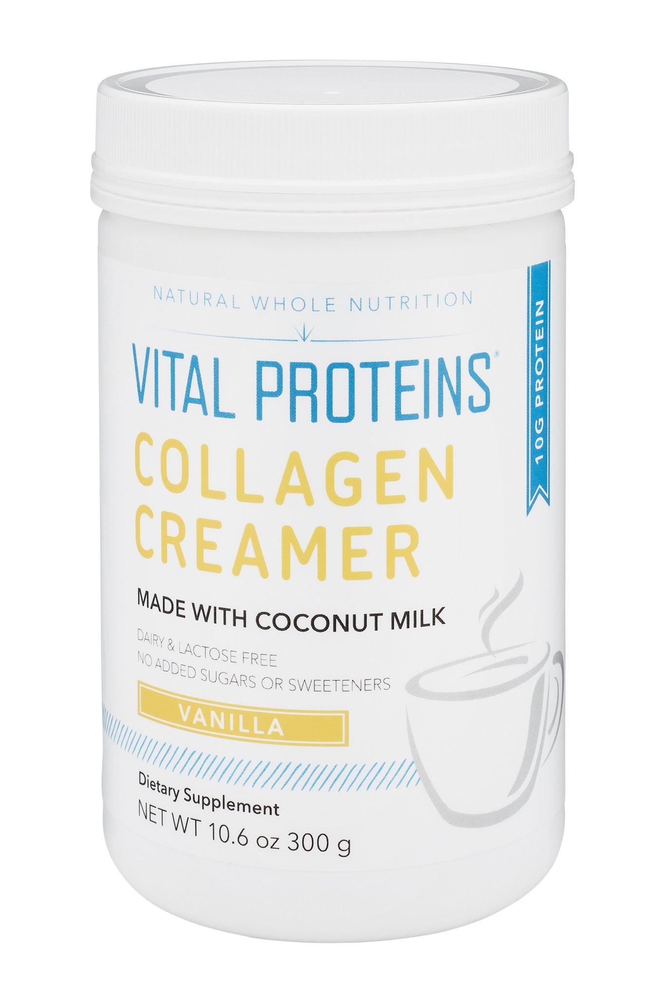 Vital Proteins Collagen Creamer (Vanilla, 10oz)