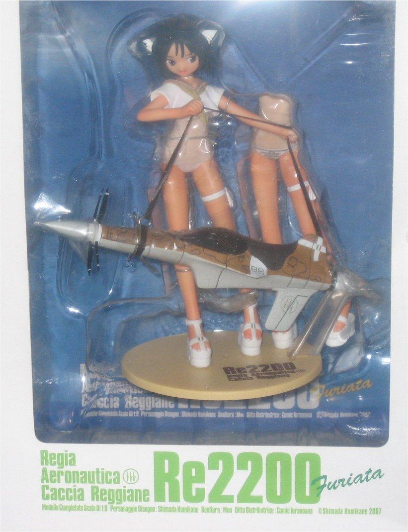 Mecha-Girl Re2200 Furiata Regia Aeronautica Caccia Reggiane Figur