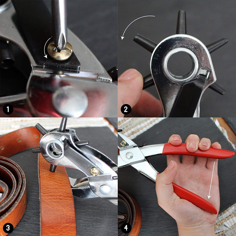 Festnight Motorcycle Bike Chain Breaker Splitter Link Riveter Riveting Fixing Tool Kit
